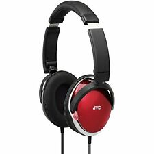 JVC High-Quality Over-Ear Audio Headphones With Dynamic Sound Red/Black