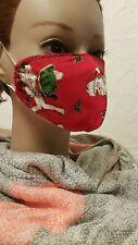 Gesichtsmaske Mund- Nasenabdeckung Maske Kinder Weihnachtsmann Weihnachten Adven