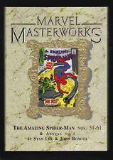 MARVEL MASTERWORKS VOL. 33, AMAZING SPIDER-MAN 51-61, 1ST PRINT HC, LTD TO 1420