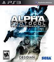 Alpha Protocol PS3 New Playstation 3