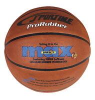 SportimeMax Men's 29-1/2 in ProRubber Basketball, Tan