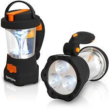 4 en 1 Lampe Torche 3 LED & Lanterne 10 LED Dynamo Rechargeable Camping Bouviac