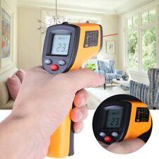 Termómetro Profesional Infrarrojo IR LCD Laser Sin Contacto Pantalla Digital