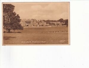 An Early Frith's Post Card of Deer Park, Holkham Hall. Norfolk
