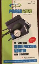 Primacare Self Monitering Blood Pressure Monitor With Stethoscope