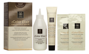 Apivita My Color Elixir,Hair Colourant,Colour,Dye with Argan,Avocado,Olive Oils
