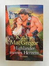 Kinley MacGregor Highlander meines Herzens Mac Gregor Blanvalet Verlag