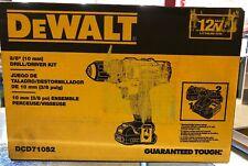 DEWALT 12V MAX Li-Ion 3/8 in. Keyless Chuck Drill Driver Kit DCD710S2