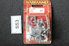Games Workshop Warhammer Bretonnian Grail Knights New Bretonnia Metal Figure OOP