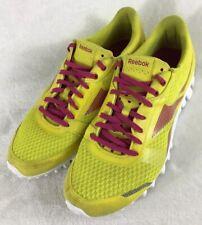 450c91df1f8 Reebok Realflex Optimal Running Shoes Yellow J86994 Women s US Size 9.5