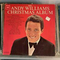 The Andy Williams Christmas Album - MONO Columbia vinyl record LP vintage 1963