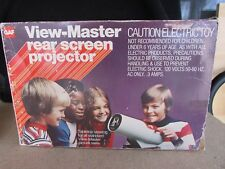 Vintage VIEW-MASTER REAR SCREEN PROJECTOR by GAF in Original Box 1970s