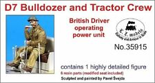 LZ MODELS BRITISH D7 BULLDOZER & TRACTOR DRIVER OPERATING Scala 1/35 Cod.35915