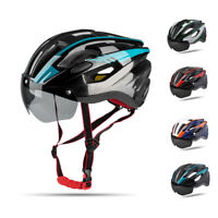 Ultralight Cycling Helmet Unisex Adult Mountain Bike Bicycle Helmet with Goggles