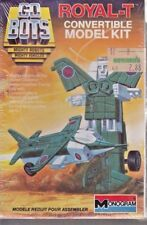 ROYAL-T Mighty Robots Convertible Model Kit 1984 Vintage GO BOTS # 6068 NEW Unop