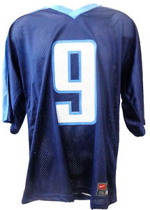 Tennessee Titans Football Steve McNair Jersey Replica Blue * Imperfect