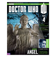 Eaglemoss Doctor Who Collection: Weeping Angel Figurine & Magazine Issue 4