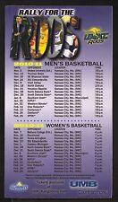 UMKC Kangaroos--2010-11 Basketball Magnet Schedule