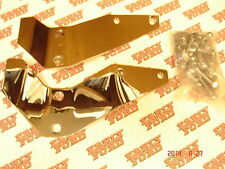1953 1954 1955 1956 Ford pickup front bumper brackets chrome with bolts