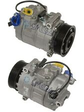 New A/C Compressor Fits: 2008 - 2013 BMW 135i L6 3.0L DOHC Turborcharged ONLY