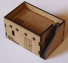 North African Single Storey Adobe Dwelling with steps 15mm Scale MDF Kit FOW DBA