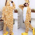 Hot Unisex pijamas Kigurumi Animal Onepiece Cosplay traje de dormir Unidad Fancy