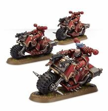 Warhammer 40k - Chaos Space marines Bikers *NIB*