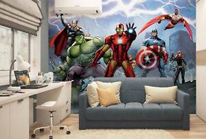 Avengers wallpaper murals Marvel photo wallpapers children's bedroom decor