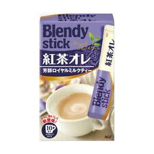 AGF Blendy Stick Royal Milk Tea au Lait Instant Drink 10 sticks
