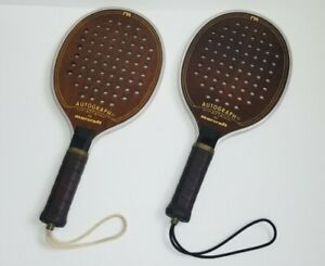 Vintage Autograph by Marcraft Paddle Ball Racquet