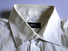 Hugo Boss Classic Fit Herren Hemd Kurzarm Weiß Unifarben KW43