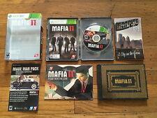 Mafia II: Collector's Edition (Microsoft Xbox 360) Complete w/SteelBook LN Mint!