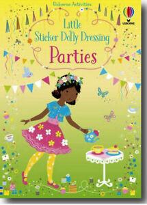 Usborne Little Sticker Dolly Dressing Parties (Paperback) FREE ship $35