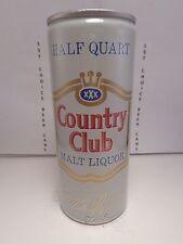 COUNTRY CLUB MALT LIQUOR 16oz ALUMINUM PULL TAB BEER CAN  NO UPC  #3  TEXAS