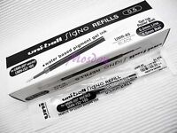 12 x Uni-Ball Signo 207 RollerBall Pen 0.5mm Refills UMR-85, BLACK