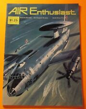 AIR ENTHUSIAST MAGAZINE JULY/1973... BRITISH PUBLISHER...FIGHTER A TO Z