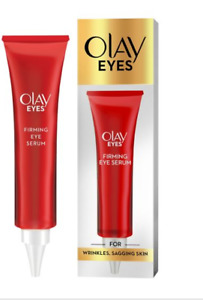2 x Olay Eyes Firming Serum For Wrinkles And Sagging Skin 15ml - 30ml In Total.