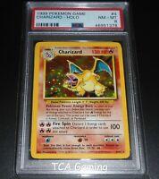 PSA 8 NM-MINT Charizard 4/102 Base Set HOLO RARE Pokemon Card