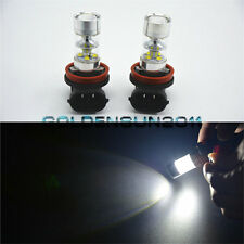 2pcs White H8 H11 LED Fog Lamp Light 60w Driving Light LED Projector light Bulbs