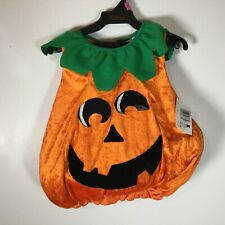 NWT Pumpkin Vest Infant Toddler Halloween Costume 1-2 Years Vest Only NEW