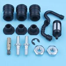 For STIHL MS180 MS180C MS170 018 AV Buffer Cap Oil Pump Fuel Hose Bar Nuts Kit