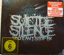 "CD+DVD-Box - ""YOU CAN´T STOP ME"" - SUICIDE SILENCE+neu+ovp++"