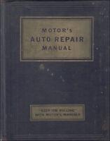1935-1953 Motors Car Repair Manual Shop Service Book for US Models