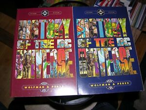 HISTORY OF THE DC UNIVERSE #1 & 2 Crisis on Infinite Earths George Perez 1986