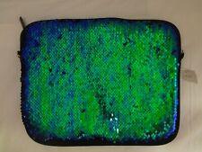 """Reversible Sequin Tablet Case Pouch  10"""" x 8"""""""
