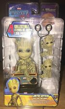 Guardians of the Galaxy 2 Kid Groot Body Knocker  Scalers and Earbuds Gift Set