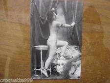 carte postale Postcard NATURISME FKK AKT nu nude REPRODUCTION poses fatales 3