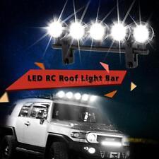 G.T.POWER LED Roof Light Bar Set 5 Spotlight for RC Crawlers Black