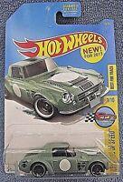 Datsun FAIRLADY 2000 #118✰Green; YOKOHAMA ✰Legends✰2017 i Hot Wheels Case F