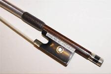 ANTIQUE  OLD  VIOLIN  BOW  4/4  OSKAR  E.  MEINEL  GERMANY  62.5g